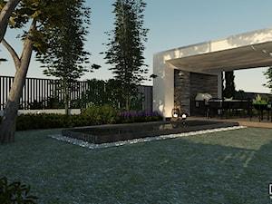 Taras główny przy ogrodzie - zdjęcie od EKLEKT DESIGN