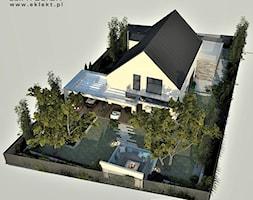 Ogród z małą architekturą - zdjęcie od EKLEKT ATELIER