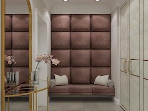 PROJEKT WNĘTRZ DOMU /200 - Średnia garderoba oddzielne pomieszczenie, styl art deco - zdjęcie od EKLEKT DESIGN