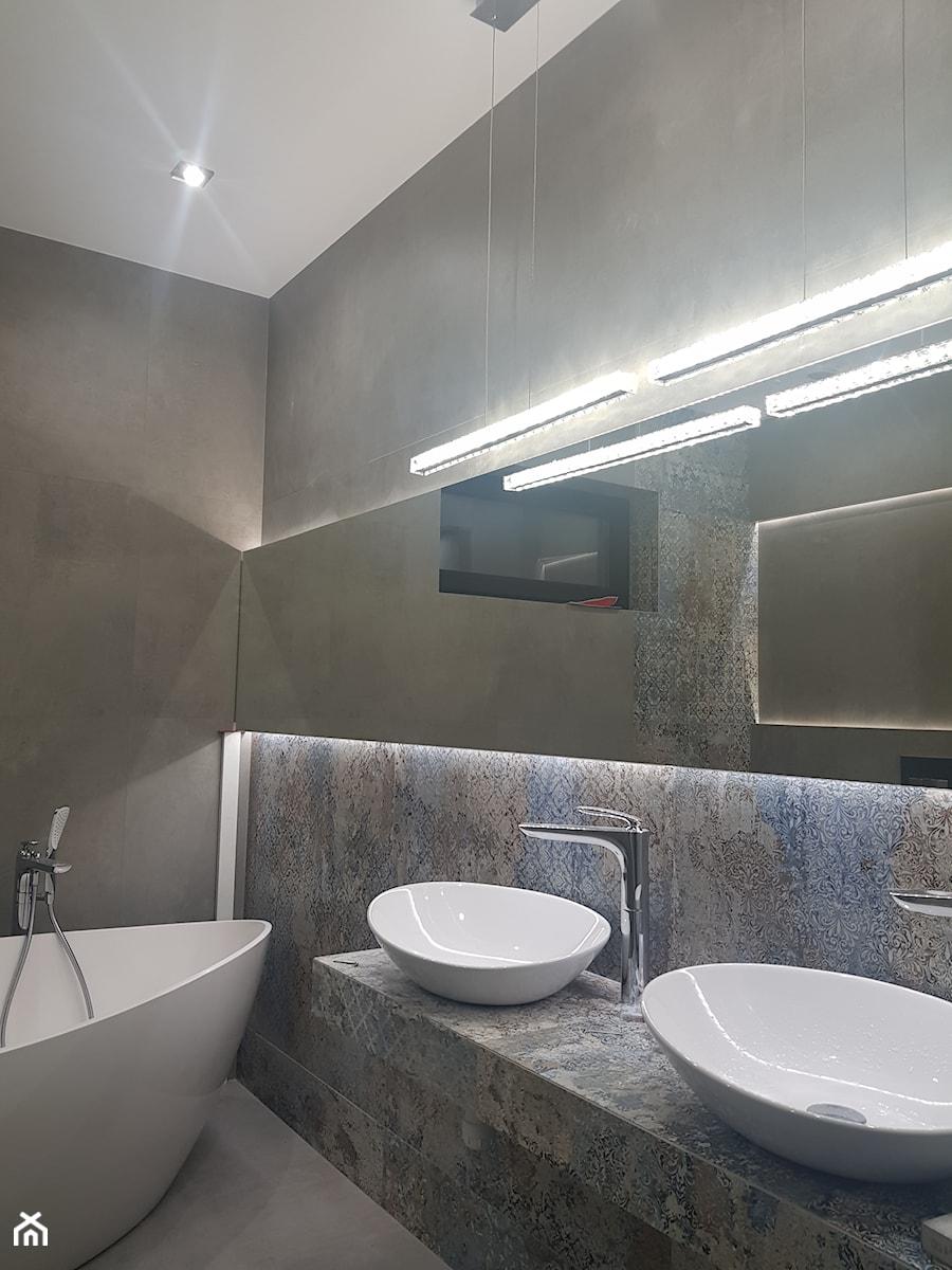 Wykończenia Wnętrz Glazura średnia łazienka W Domu