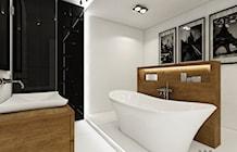 Łazienka styl Glamour - zdjęcie od Majo Design Studio