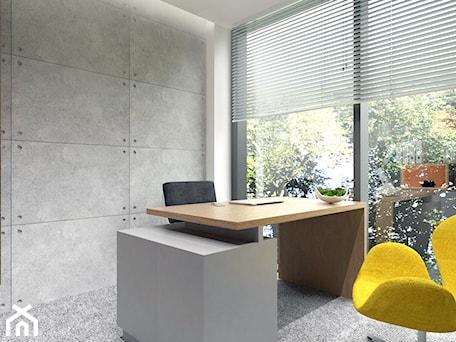 Aranżacje wnętrz - Wnętrza publiczne: Pokój biurowy - BDWstudio. Przeglądaj, dodawaj i zapisuj najlepsze zdjęcia, pomysły i inspiracje designerskie. W bazie mamy już prawie milion fotografii!