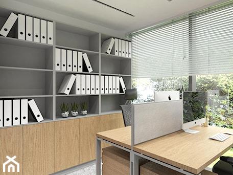 Aranżacje wnętrz - Wnętrza publiczne: Biuro - BDWstudio. Przeglądaj, dodawaj i zapisuj najlepsze zdjęcia, pomysły i inspiracje designerskie. W bazie mamy już prawie milion fotografii!