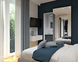 Sypialnia+z+tapet%C4%85+-+zdj%C4%99cie+od+BDWstudio