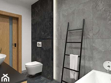 Aranżacje wnętrz - Łazienka: DOM W FIRLEJU - Średnia biała łazienka w bloku w domu jednorodzinnym bez okna, styl nowoczesny - BDWstudio. Przeglądaj, dodawaj i zapisuj najlepsze zdjęcia, pomysły i inspiracje designerskie. W bazie mamy już prawie milion fotografii!