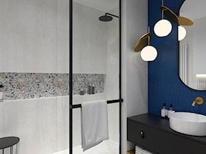 Nowoczesna łazienka z prysznicem - zdjęcie od BDWstudio
