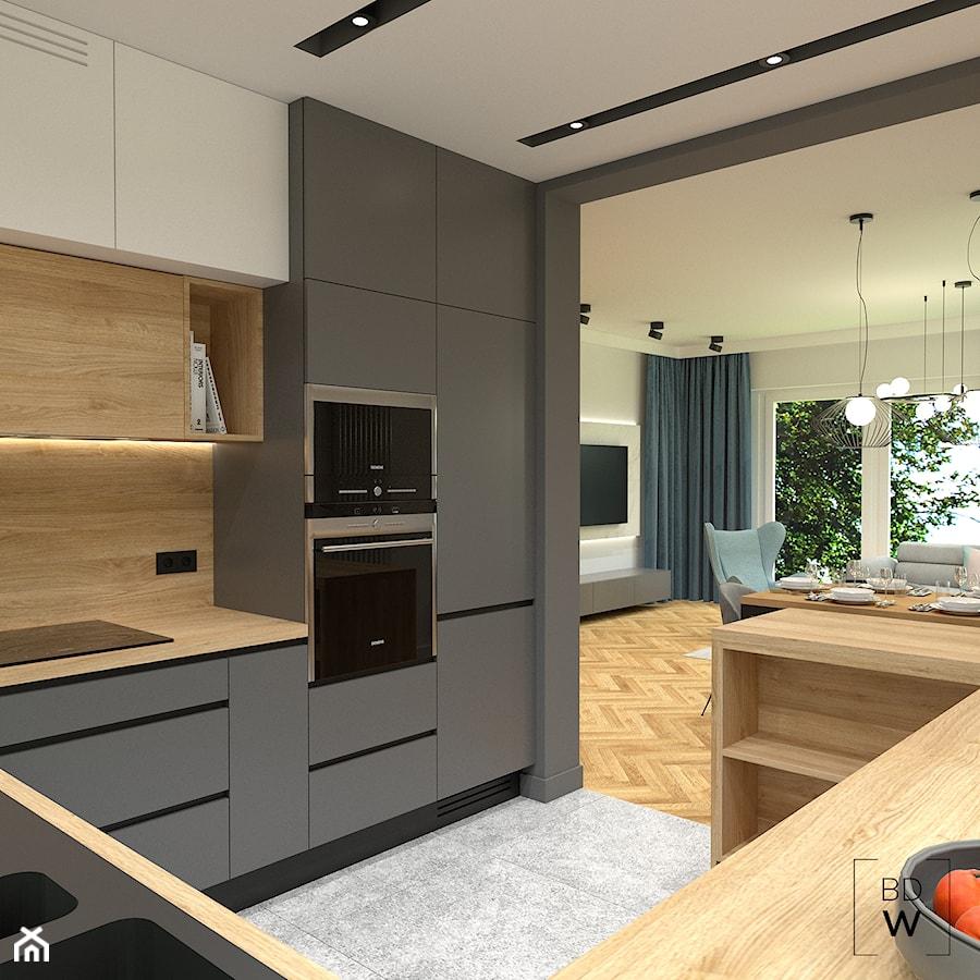Szara kuchnia - zdjęcie od BDWstudio