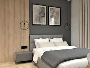DOM W LUBLINIE - Sypialnia, styl minimalistyczny - zdjęcie od BDWstudio