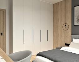 DOM W LUBLINIE - Sypialnia, styl minimalistyczny - zdjęcie od BDWstudio - Homebook