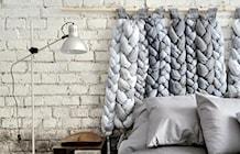 Sypialnia styl Industrialny - zdjęcie od projekt i...