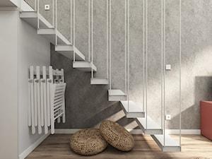 MiniMaxy - MINImum powierzchni, MAXImum funkcjonalności - Schody, styl nowoczesny - zdjęcie od Julia Wilczyńska ⚫️ punctum architecture