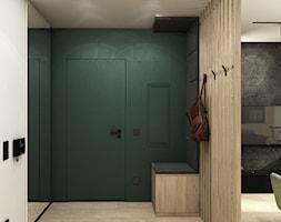 Mieszkanie 41m² - Wiślane Tarasy 2.0, Kraków - Hol / przedpokój, styl nowoczesny - zdjęcie od Julia Wilczyńska-Kuciapska ⚫️ punctum architecture - Homebook