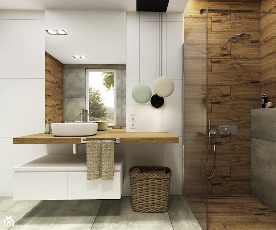 łazienka 95m2 Mirzec średnia łazienka W Bloku W Domu