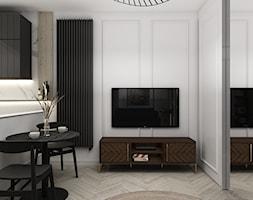 Mieszkanie 31 m², Warszawa - Salon, styl eklektyczny - zdjęcie od Julia Wilczyńska-Kuciapska ⚫️ punctum architecture - Homebook