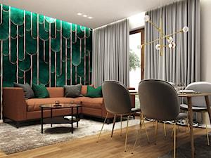 Mieszkanie 47m2, Warszawa - Salon, styl eklektyczny - zdjęcie od Julia Wilczyńska ⚫️ punctum architecture