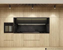 Mieszkanie 41m² - Wiślane Tarasy 2.0, Kraków - Kuchnia, styl nowoczesny - zdjęcie od Julia Wilczyńska-Kuciapska ⚫️ punctum architecture - Homebook