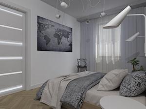 Mieszkanie Ostróda - Średnia biała sypialnia dla gości, styl nowoczesny - zdjęcie od Celine