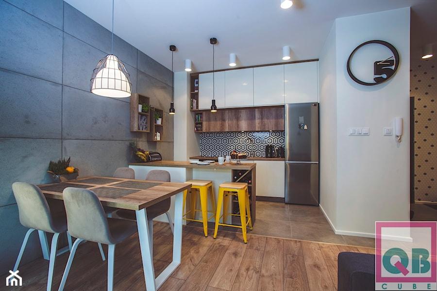 Kuchnia w stylu Scandiloft - zdjęcie od Doxi24