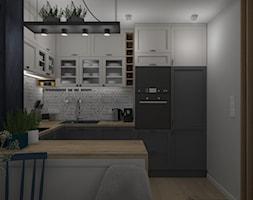 Widok na zabudowę kuchni - zdjęcie od Projekt Środka - Homebook