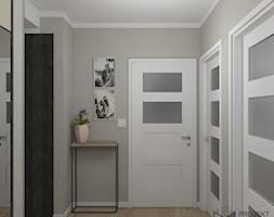 Widok z wejścia do mieszkania - zdjęcie od Projekt Środka