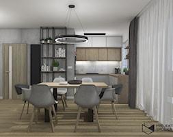 Widok na kuchnię otwartą - zdjęcie od Projekt Środka - Homebook