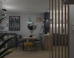 Widok na kuchnię otwartą na salon - zdjęcie od Projekt Środka - Homebook