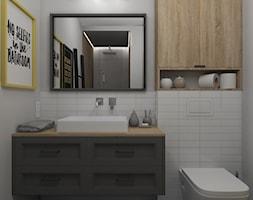 Łazienka z płytkami patchwork - zdjęcie od Projekt Środka - Homebook