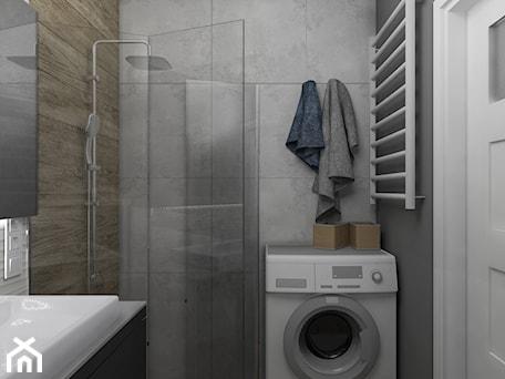 Aranżacje wnętrz - Łazienka: Widok na część prysznicową łazienki - Projekt Środka. Przeglądaj, dodawaj i zapisuj najlepsze zdjęcia, pomysły i inspiracje designerskie. W bazie mamy już prawie milion fotografii!