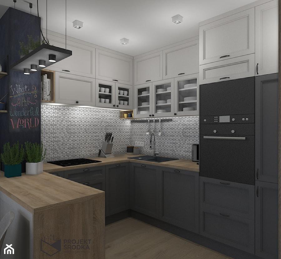 Widok na kuchnię - zdjęcie od Projekt Środka