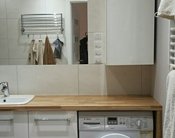 Widok z wejścia do łazienki - zdjęcie od Projekt Środka
