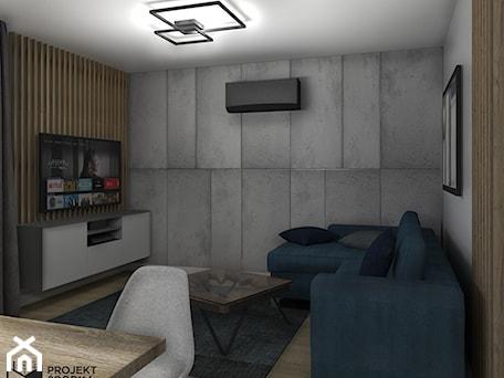 Aranżacje wnętrz - Salon: Widok na wypoczynkową mieszkania - Projekt Środka. Przeglądaj, dodawaj i zapisuj najlepsze zdjęcia, pomysły i inspiracje designerskie. W bazie mamy już prawie milion fotografii!