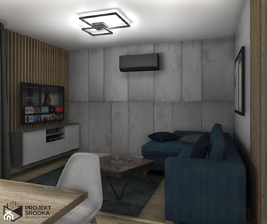 Widok na wypoczynkową mieszkania - zdjęcie od Projekt Środka