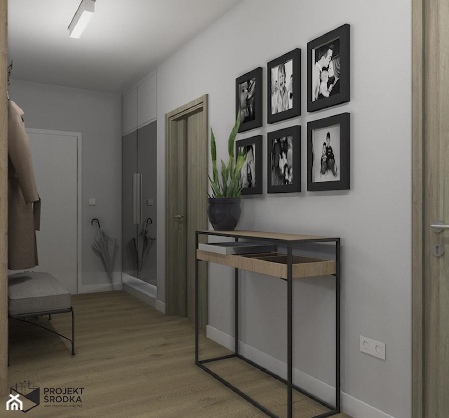 Widok na wejście do mieszkania - zdjęcie od Projekt Środka