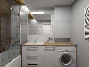 Wizualizacja łazienki - zdjęcie od Projekt Środka