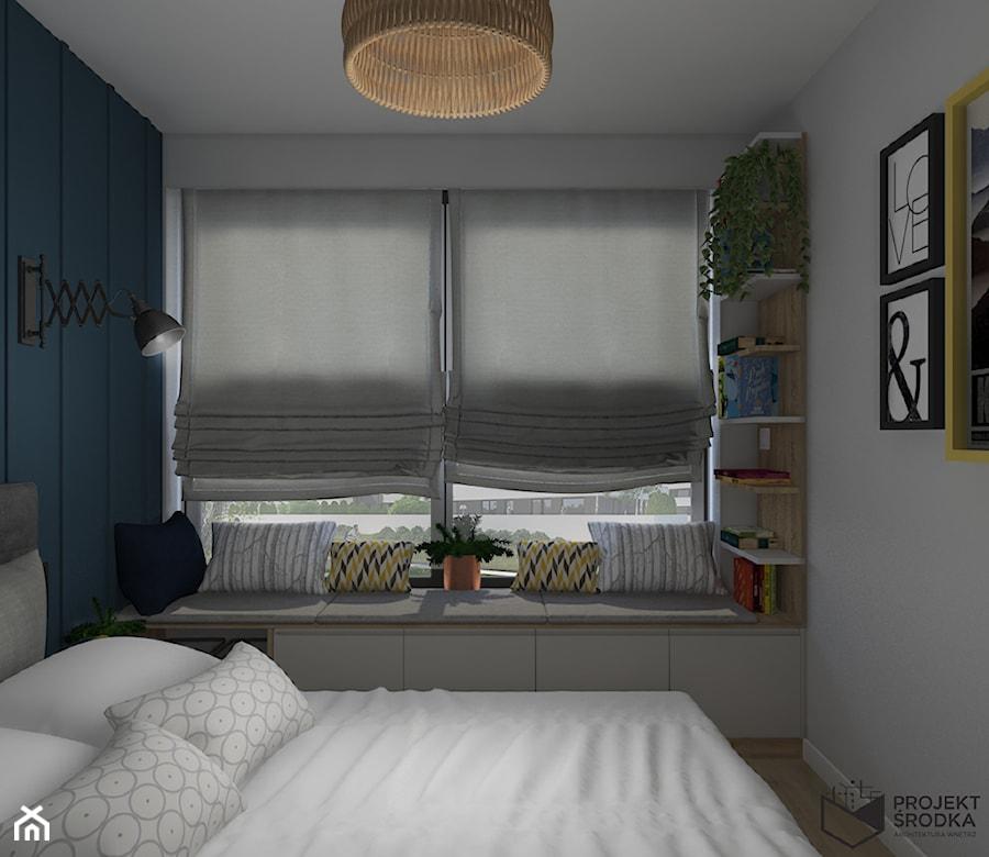 Siedzisko pod oknem w sypialni - zdjęcie od Projekt Środka