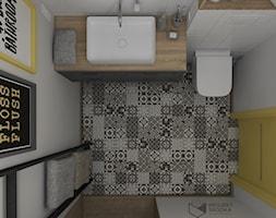 Rzut łazienki - zdjęcie od Projekt Środka - Homebook