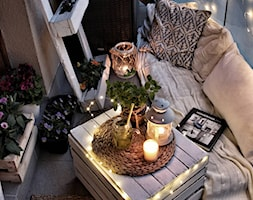 #5latHomebook - Mały taras z tyłu domu - zdjęcie od Healthylifestyle_domi_