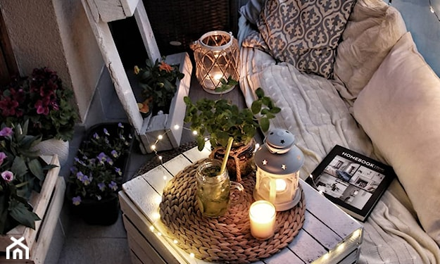 jesienne dekoracje tarasu