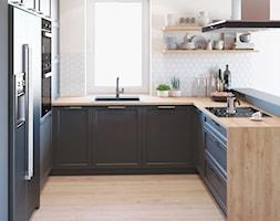 Szara+kuchnia+z+heksagonami+-+zdj%C4%99cie+od+Auroom+Concept