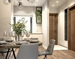 Minimalistyczna kuchnia z otwartymi półkami - zdjęcie od Auroom Concept - Homebook