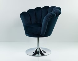 Fotel Muszelka Granatowa - zdjęcie od Emra Wood Design - Homebook