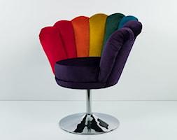 Fotel Tęczowy Joker EMRA WOOD - zdjęcie od Emra Wood Design - Homebook