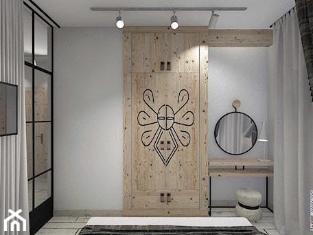 Aranżacje wnętrz - Sypialnia: Projekt aranżacji wnętrz apartamentu w Zakopanem - balhouse - projektowanie wnętrz. Przeglądaj, dodawaj i zapisuj najlepsze zdjęcia, pomysły i inspiracje designerskie. W bazie mamy już prawie milion fotografii!