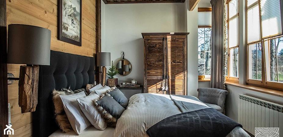 7 pomysłów na sypialnię w stylu rustykalnym – przegląd inspiracji