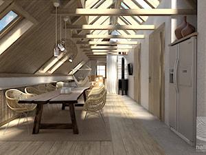Przestrzeń mieszkalna na poddaszu