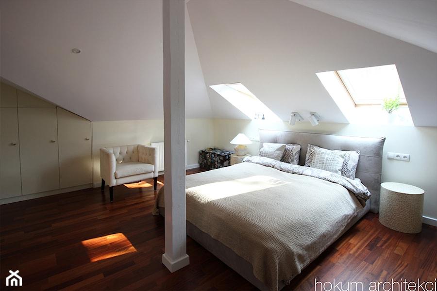 Sypialnia gościnna - zdjęcie od hokum architekci