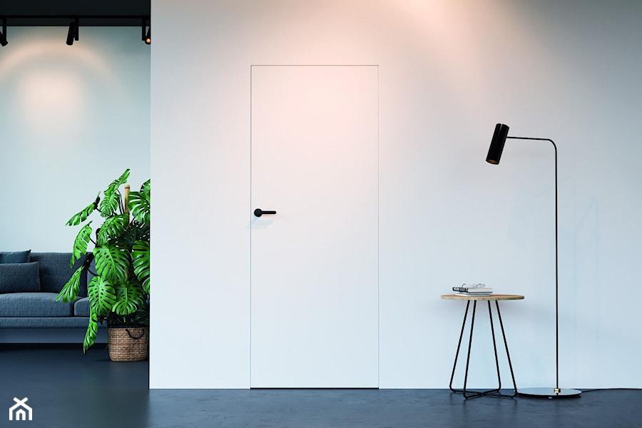 Inspiracje - Salon, styl minimalistyczny - zdjęcie od Porta Drzwi