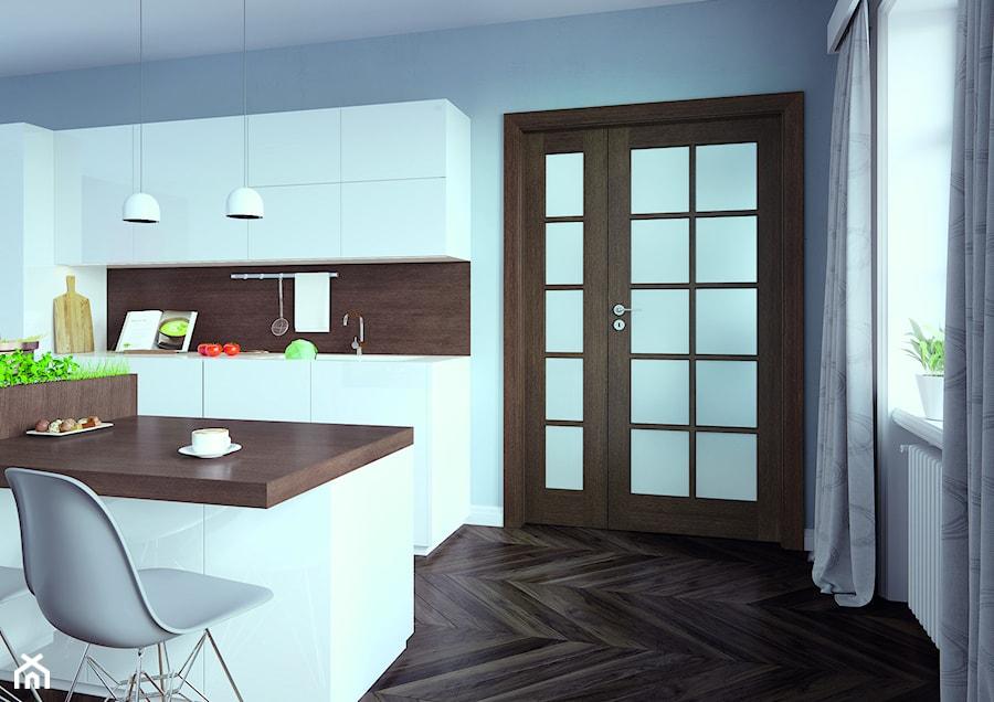 Inspiracje - Kuchnia, styl nowoczesny - zdjęcie od Porta Drzwi