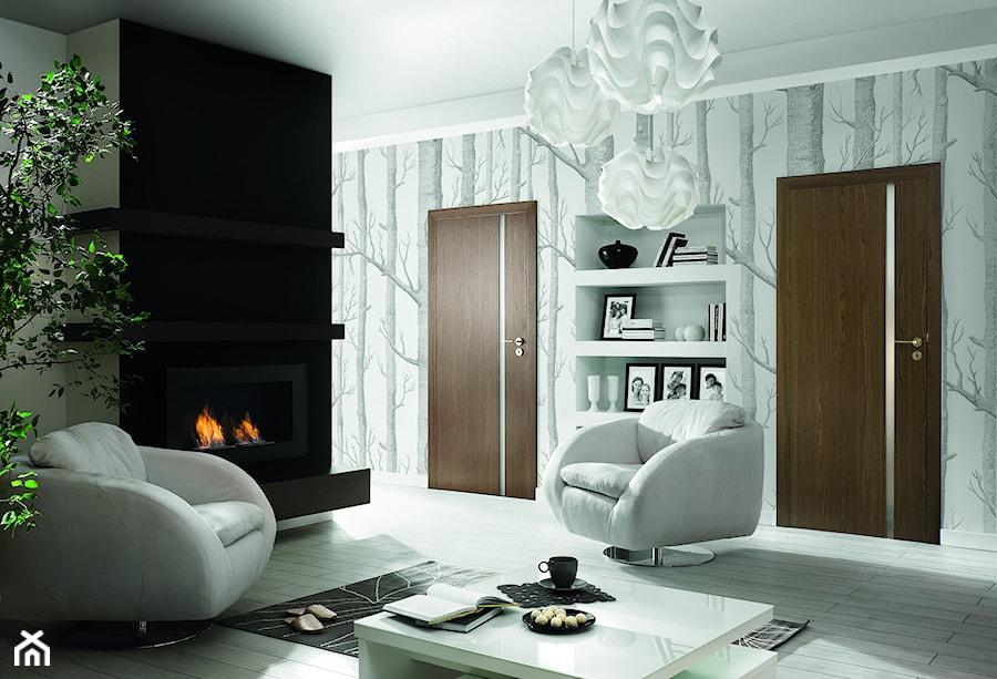 Inspiracje - Salon, styl eklektyczny - zdjęcie od Porta Drzwi