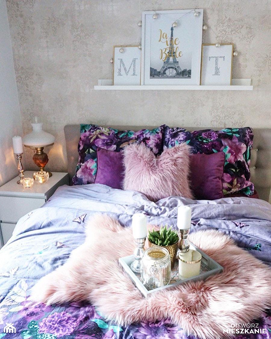 Konkurs O!Twórz Mieszkanie - Sypialnia, styl glamour - zdjęcie od Porta Drzwi